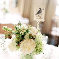 Flowers & Decor, Real Weddings, Wedding Style, ivory, green, Centerpieces, Table Numbers, Classic Real Weddings, Classic Weddings, Classic Wedding Flowers & Decor, Spring Wedding Flowers & Decor, Summer Wedding Flowers & Decor
