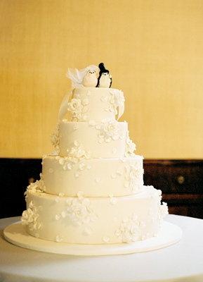 Cakes, Real Weddings, Wedding Style, white, Wedding Cakes, Cake Toppers, Classic Real Weddings, Classic Weddings, new york weddings, new york real weddings