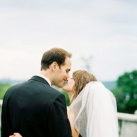 Real Weddings, white, black, Classic Weddings