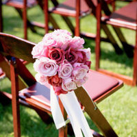 Flowers & Decor, Real Weddings, Wedding Style, pink, Aisle Decor, Summer Weddings, West Coast Real Weddings, Summer Real Weddings, Vineyard Real Weddings, Vineyard Weddings, Garden Wedding Flowers & Decor, Summer Wedding Flowers & Decor