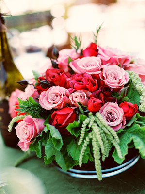 Flowers & Decor, Real Weddings, Wedding Style, pink, Centerpieces, Summer Weddings, West Coast Real Weddings, Summer Real Weddings, Vineyard Real Weddings, Vineyard Weddings, Garden Wedding Flowers & Decor, Summer Wedding Flowers & Decor, Vineyard Wedding Flowers & Decor