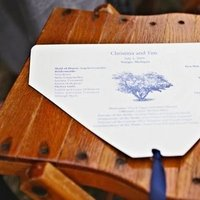 Stationery, Real Weddings, Wedding Style, Ceremony Programs, Summer Weddings, Midwest Real Weddings, Summer Real Weddings