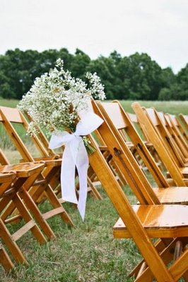 Flowers & Decor, Real Weddings, Wedding Style, Ceremony Flowers, Aisle Decor, Summer Weddings, Midwest Real Weddings, Summer Real Weddings, Summer Wedding Flowers & Decor