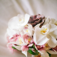 Flowers & Decor, Real Weddings, Orchids, Destination Weddings, Summer Weddings, Summer Real Weddings, Bridal Bouquets, Destination Real Wedding, Hawaiian Real Wedding, Hawaiian Weddings, Tropical Weddings, Tropical Real Weddings