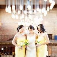 Bridesmaids Dresses, Fashion, Real Weddings, Wedding Style, yellow, Modern Real Weddings, Summer Weddings, Midwest Real Weddings, Summer Real Weddings, Modern Weddings