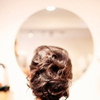 Beauty, Real Weddings, Wedding Style, Updo, Modern Real Weddings, Summer Weddings, Midwest Real Weddings, Summer Real Weddings, Modern Weddings