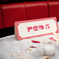 Stationery, Real Weddings, Wedding Style, red, Table Numbers, Northeast Real Weddings, Modern Real Weddings, Modern Weddings