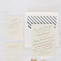 Stationery, Real Weddings, invitation, Summer Real Weddings, Elegant, Stripes, Summer wedding, East Coast Real Weddings, East Coast Weddings, Picnic Real Wedding, Picnic Wedding, Sophisticated Real Weddings, Sophisticated Weddings