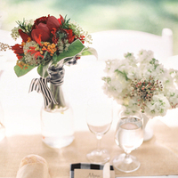 Flowers & Decor, Real Weddings, red, Summer Real Weddings, Burlap, Stripes, Summer wedding, Gingham, East Coast Real Weddings, East Coast Weddings, Picnic Real Wedding, Picnic Wedding, Sophisticated Real Weddings, Sophisticated Weddings
