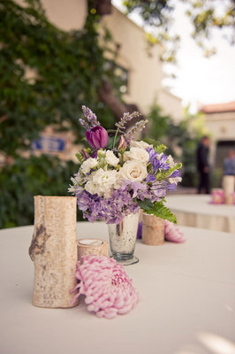 Real Weddings, purple, Centerpieces, Rustic Real Weddings, Summer Weddings, West Coast Real Weddings, Summer Real Weddings, Rustic Weddings, Rustic Wedding Flowers & Decor