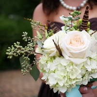 Flowers & Decor, Real Weddings, Wedding Style, ivory, Bridesmaid Bouquets, Fall Weddings, Northeast Real Weddings, Rustic Real Weddings, Fall Real Weddings, Garden Real Weddings, Garden Weddings, Rustic Weddings, Garden Wedding Flowers & Decor, Rustic Wedding Flowers & Decor