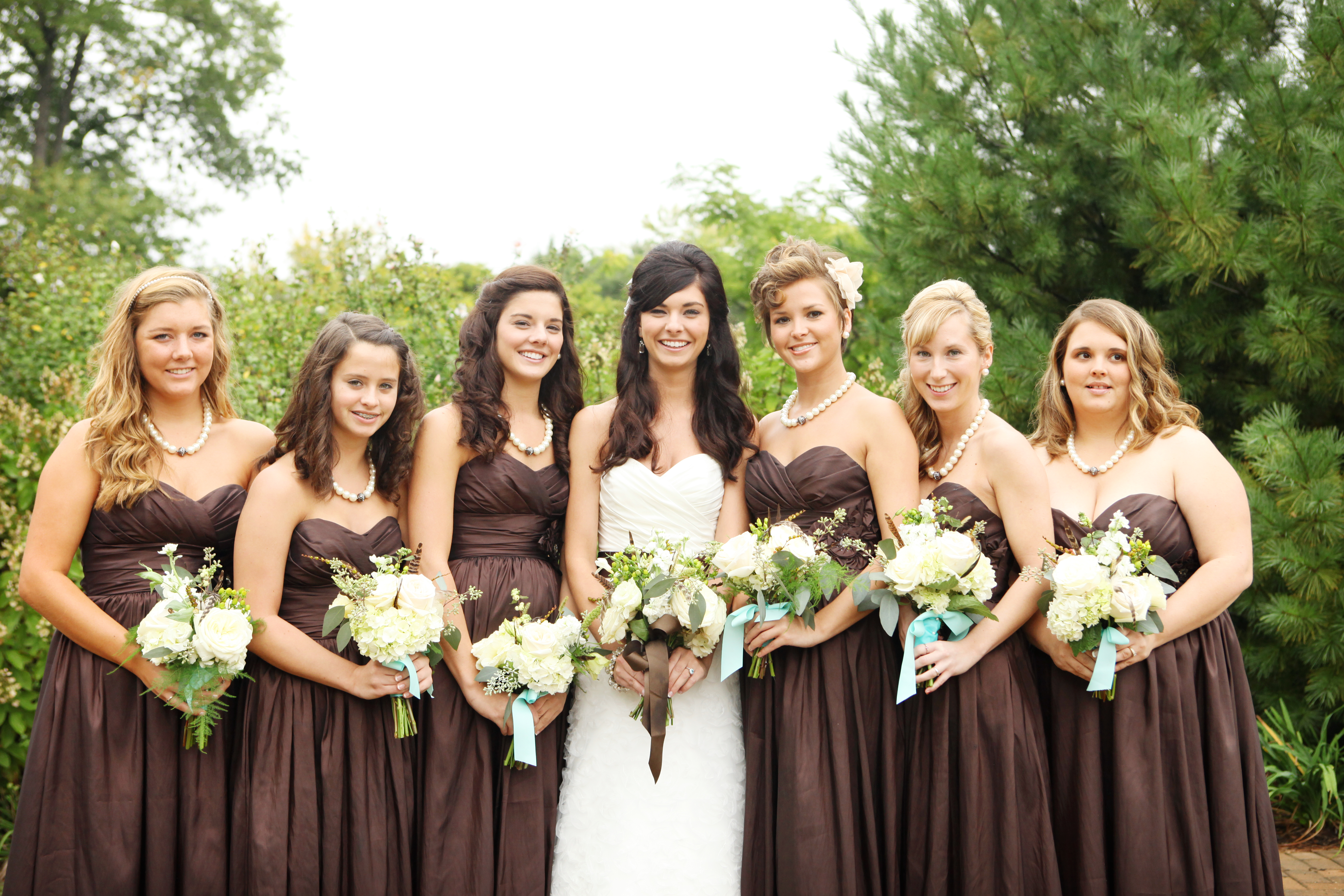 Bridesmaid Dresses, Fashion, Real Weddings, Wedding Style, brown, Fall Weddings, Northeast Real Weddings, Rustic Real Weddings, Fall Real Weddings, Garden Real Weddings, Garden Weddings, Rustic Weddings