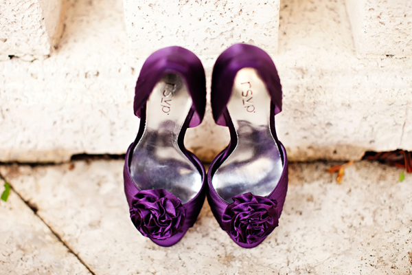 Shoes, Fashion, Real Weddings, Wedding Style, purple, Accessories, Southern Real Weddings, Classic Real Weddings, Classic Weddings, wedding shoes