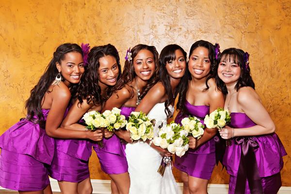 Bridesmaids Dresses, Fashion, Real Weddings, Wedding Style, pink, purple, Southern Real Weddings, Classic Real Weddings, Classic Weddings