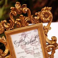 Stationery, Real Weddings, Wedding Style, gold, Ceremony Programs, Southern Real Weddings, Classic Real Weddings, Classic Weddings
