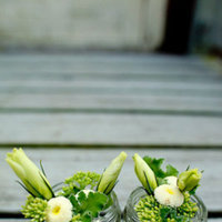 Flowers & Decor, Real Weddings, Wedding Style, ivory, yellow, green, Ceremony Flowers, Centerpieces, Northeast Real Weddings, Rustic Real Weddings, Summer Weddings, Summer Real Weddings, Rustic Weddings, Summer Wedding Flowers & Decor