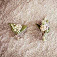 Flowers & Decor, Real Weddings, Wedding Style, Boutonnieres, Spring Weddings, West Coast Real Weddings, Garden Real Weddings, Spring Real Weddings, Garden Weddings, Pastel