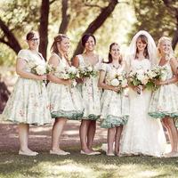 Bridesmaids Dresses, Fashion, Real Weddings, Wedding Style, green, Spring Weddings, West Coast Real Weddings, Garden Real Weddings, Spring Real Weddings, Vintage Real Weddings, Garden Weddings, Vintage Weddings
