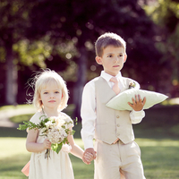 Fashion, Real Weddings, Wedding Style, Spring Weddings, West Coast Real Weddings, Garden Real Weddings, Spring Real Weddings, Garden Weddings, Ring bearers, Kids, Pastel, flowers girls