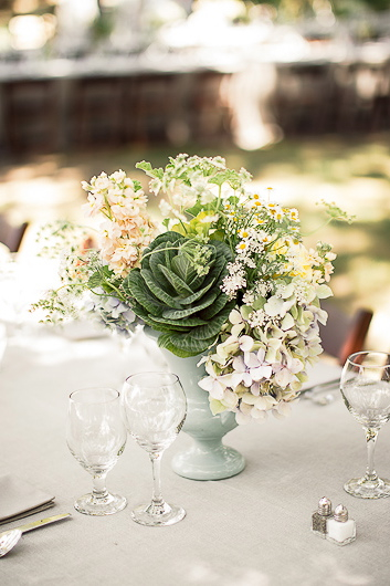 Flowers & Decor, Real Weddings, Wedding Style, green, Centerpieces, Spring Weddings, West Coast Real Weddings, Garden Real Weddings, Spring Real Weddings, Garden Weddings, Garden Wedding Flowers & Decor, Spring Wedding Flowers & Decor