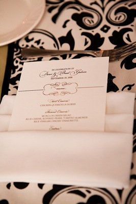 Stationery, Real Weddings, Wedding Style, Menu Cards, Modern Real Weddings, Summer Weddings, West Coast Real Weddings, Summer Real Weddings, Modern Weddings