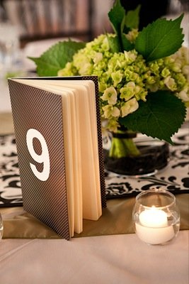 Flowers & Decor, Stationery, Real Weddings, Wedding Style, Table Numbers, Modern Real Weddings, Summer Weddings, West Coast Real Weddings, Summer Real Weddings, Modern Weddings, Modern Wedding Flowers & Decor, Summer Wedding Flowers & Decor