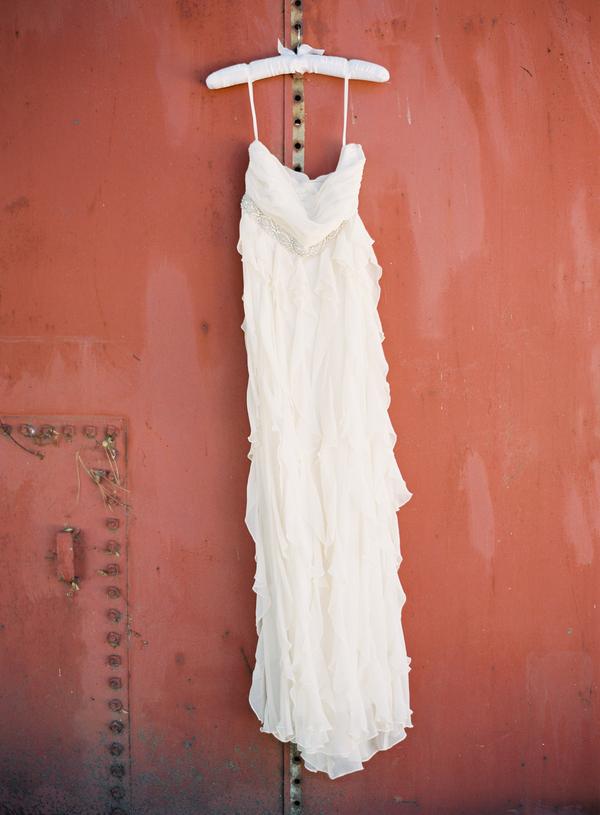 Real Weddings, dress, Tiers, Informal