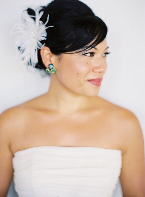 Beauty, Real Weddings, Makeup, Hair, Natural, Fascinator