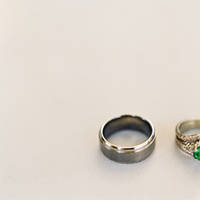 Jewelry, Women's Rings, Men's Rings, White Gold, Platinum, Engagement Rings, Wedding Bands, Wedding Day Jewelry, Rings, Unique, Real wedding, Emerald, emerald cut engagement rings