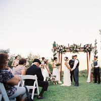 Ceremony, Outdoor, Real wedding