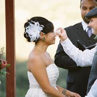 Ceremony, Real wedding