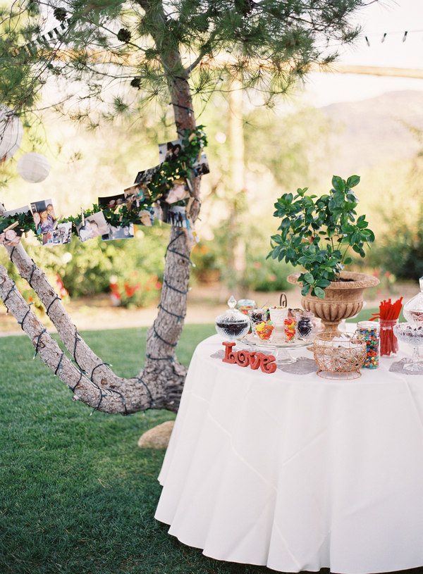 Candy, Real wedding, Dessert table