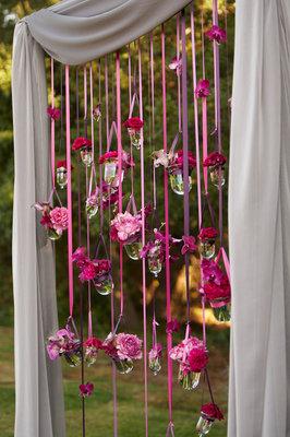 Flowers & Decor, Real Weddings, Wedding Style, pink, Spring Weddings, Spring Real Weddings, Spring Wedding Flowers & Decor