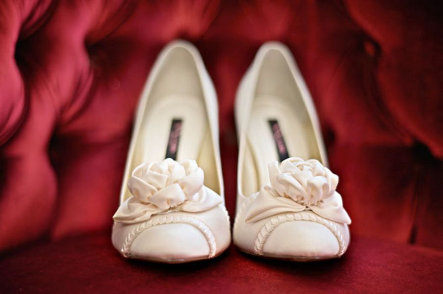 Shoes, Fashion, Real Weddings, Wedding Style, white, red, West Coast Real Weddings, Winter Weddings, Vintage Real Weddings, Winter Real Weddings, Vintage Weddings