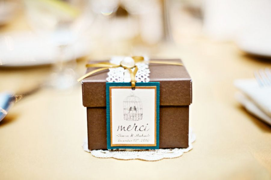Favors & Gifts, Real Weddings, Wedding Style, brown, Vintage Wedding Favors & Gifts, West Coast Real Weddings, Winter Weddings, Vintage Real Weddings, Winter Real Weddings, Vintage Weddings