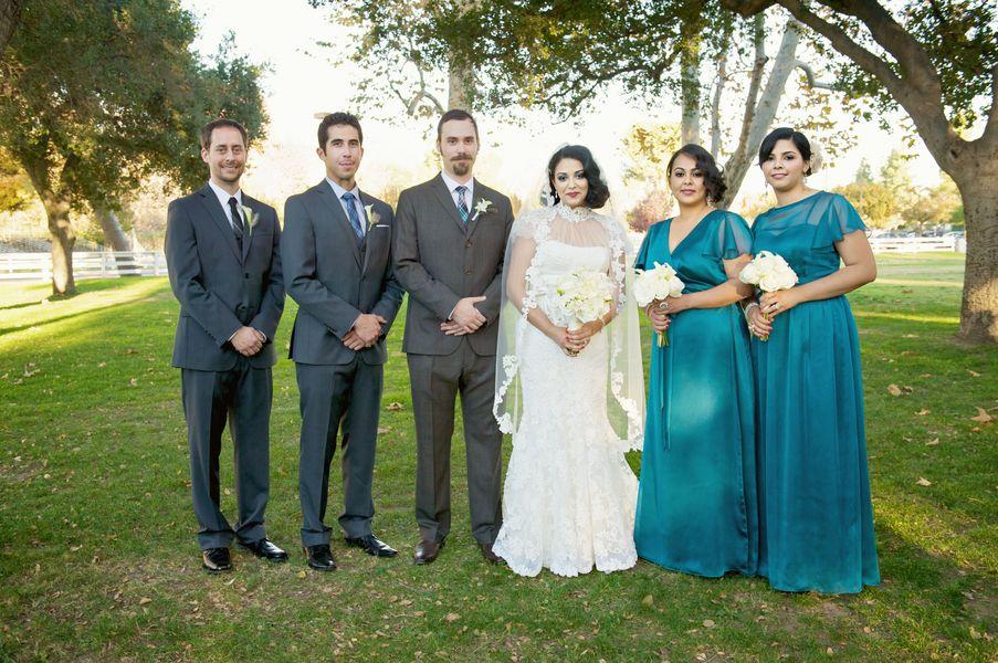 Bridesmaids Dresses, Vintage Wedding Dresses, Fashion, Real Weddings, Wedding Style, blue, West Coast Real Weddings, Winter Weddings, Vintage Real Weddings, Winter Real Weddings, Vintage Weddings