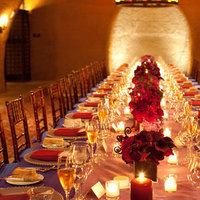 Real Weddings, red, purple, Tables & Seating, Candles, Fall Weddings, West Coast Real Weddings, Fall Real Weddings, Glam Real Weddings, Vineyard Real Weddings, Glam Weddings, Vineyard Weddings, Fall Wedding Flowers & Decor, Glam Wedding Flowers & Decor