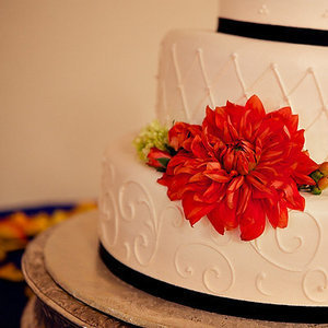 Cakes, Real Weddings, Wedding Style, white, red, black, Floral Wedding Cakes, Wedding Cakes, California weddings, california real weddings