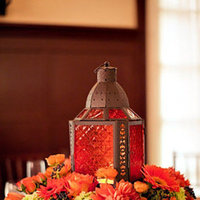 Real Weddings, Wedding Style, orange, Centerpieces, Fall Weddings, Fall Real Weddings, Modern Weddings, Fall Wedding Flowers & Decor, Modern Wedding Flowers & Decor, Flower decor