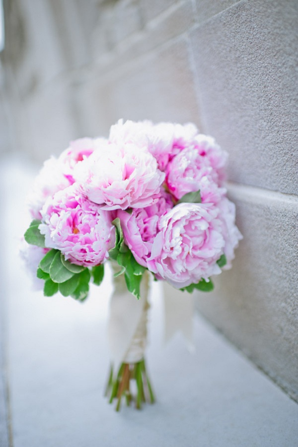 Flowers & Decor, Real Weddings, pink, Bride Bouquets, Classic Real Weddings, Classic Weddings, Classic Wedding Flowers & Decor, Spring Wedding Flowers & Decor, Peony, Bridal Bouquets, East Coast Real Weddings, East Coast Weddings, Romantic Real Weddings, Romantic Weddings