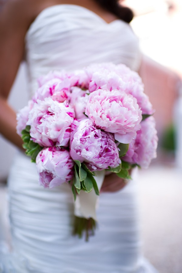Flowers & Decor, Real Weddings, Wedding Style, pink, Bride Bouquets, Classic Real Weddings, Classic Weddings, Classic Wedding Flowers & Decor, Spring Wedding Flowers & Decor, Bridal Bouquets, East Coast Real Weddings, East Coast Weddings, Romantic Real Weddings, Romantic Weddings, Classic Wedding Bouquet
