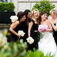 Bridesmaids, Real Weddings, Wedding Style, black, Modern Real Weddings, Spring Weddings, Spring Real Weddings, Modern Weddings, Bridal party, East Coast Real Weddings, East Coast Weddings