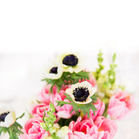 Flowers & Decor, Real Weddings, Wedding Style, pink, Centerpieces, Modern Real Weddings, Spring Weddings, Spring Real Weddings, Modern Weddings, Spring Wedding Flowers & Decor, Tulips, East Coast Real Weddings, East Coast Weddings