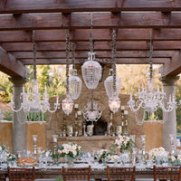 Flowers & Decor, Real Weddings, Wedding Style, white, silver, gold, Lighting, Tables & Seating, Summer Weddings, West Coast Real Weddings, Summer Real Weddings, Vintage Real Weddings, Vintage Weddings, Glam Wedding Flowers & Decor, Summer Wedding Flowers & Decor, Vintage Wedding Flowers & Decor, Table settings
