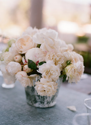 Flowers & Decor, Real Weddings, Wedding Style, ivory, pink, Centerpieces, Summer Weddings, West Coast Real Weddings, Summer Real Weddings, Vintage Real Weddings, Vintage Weddings, Beach Wedding Flowers & Decor, Summer Wedding Flowers & Decor, Vintage Wedding Flowers & Decor, Pastel