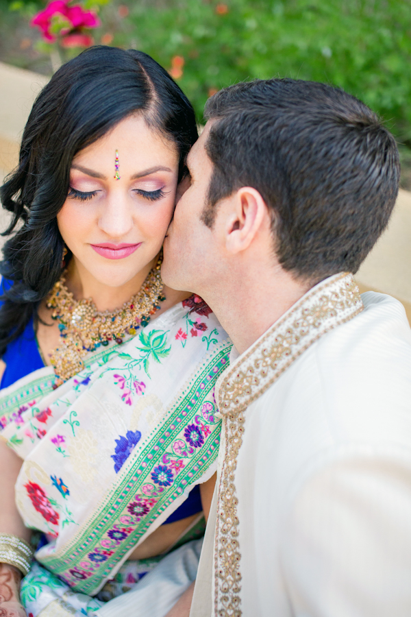 Real Weddings, Wedding Style, Modern Real Weddings, Summer Weddings, West Coast Real Weddings, Summer Real Weddings, Modern Weddings, Colorful, Sari, Vibrant, Indian wedding, Jewish wedding, West Coast Weddings, Multicultural Real Weddings, Multicultural Weddings, Indian Real Wedding, Jewish Real Wedding