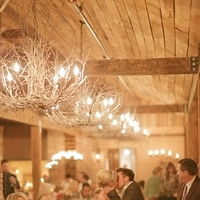 Reception, Real Weddings, Wedding Style, Lighting, Fall Weddings, Rustic Real Weddings, Southern Real Weddings, Fall Real Weddings, Vintage Real Weddings, Rustic Weddings, Vintage Weddings, Chandeliers, Southern weddings