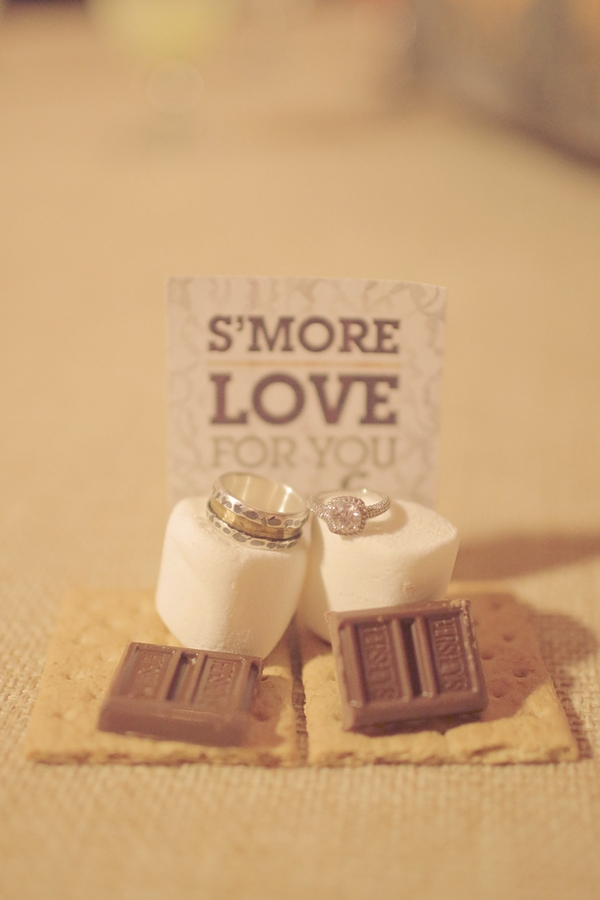 Favors & Gifts, Stationery, Real Weddings, Wedding Style, Women's Rings, Men's Rings, Platinum, Engagement Rings, Wedding Bands, Fall Weddings, Rustic Real Weddings, Southern Real Weddings, Fall Real Weddings, Vintage Real Weddings, Rustic Weddings, Vintage Weddings, Jewerly, Smores, Southern weddings, radiant engagement ring