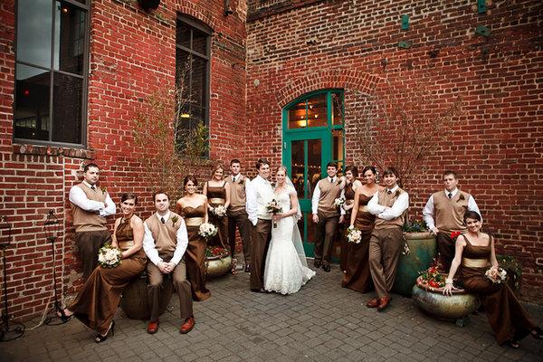 brown, Southern Real Weddings, Beige