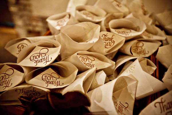 Favors, Southern Real Weddings